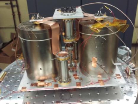 Photo of cyrogenic test facility