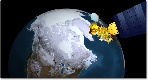 Arctic Sea Ice from AMSR-E