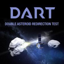 Illustration of DART mission spacecraft
