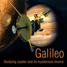 illustration of galileo spacecraft