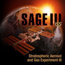 SAGE III mission poster