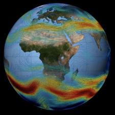 Jet Stream visualization