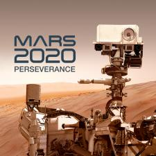 Artist concept of Mars Rover on Mar's surface