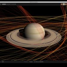 Screenshot of Eyes@JPL application