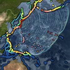 Visualization of tsunami propagation