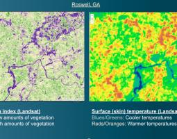 Spring into Urban Heat Islands with My NASA Data