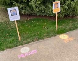 Solar System Ambassadors and Social Distancing