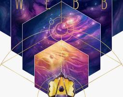 Artist rendition of James Webb Telescope