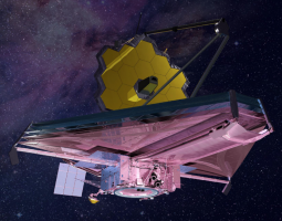 Artist concept of James Webb Space Telescope