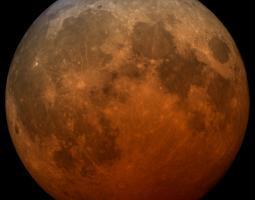 Photo of Earth's blood moon