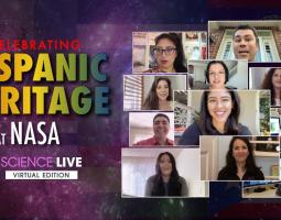 NASA Science Live Hispanic Heritage Month