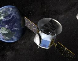 Artist concept of TESS satellite