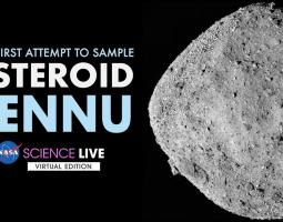 Photo of asteroid Bennu