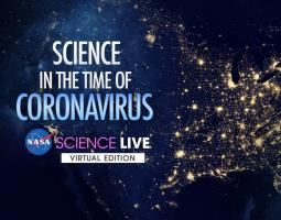 Science in the time of Coronavirus, satellite image of United States at night