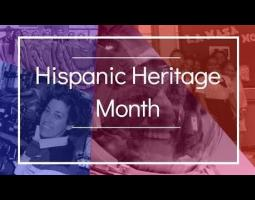 Hispanic Heritage Month collage