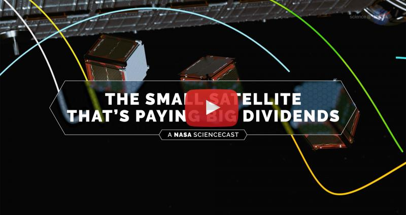 The Small Satellite That's Paying Big Dividends Poster