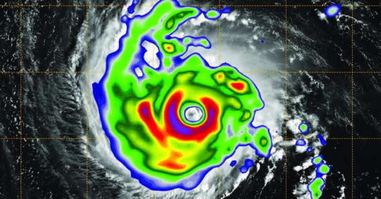 Hurricane Florence satellite image