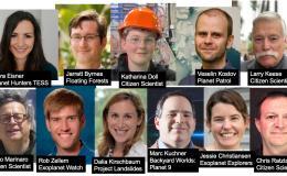 Photo collage of citizen science participants