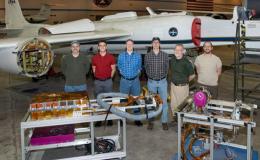 Photo of air-LUCI deployment team