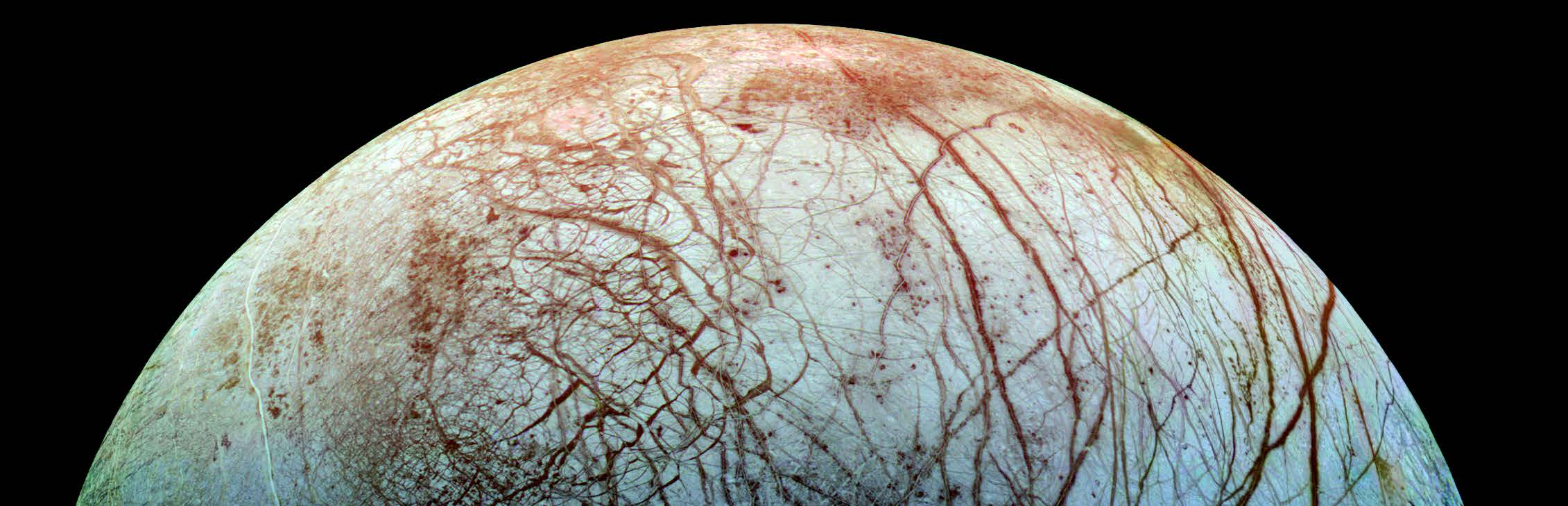 Image of Jupiter's moon Europa