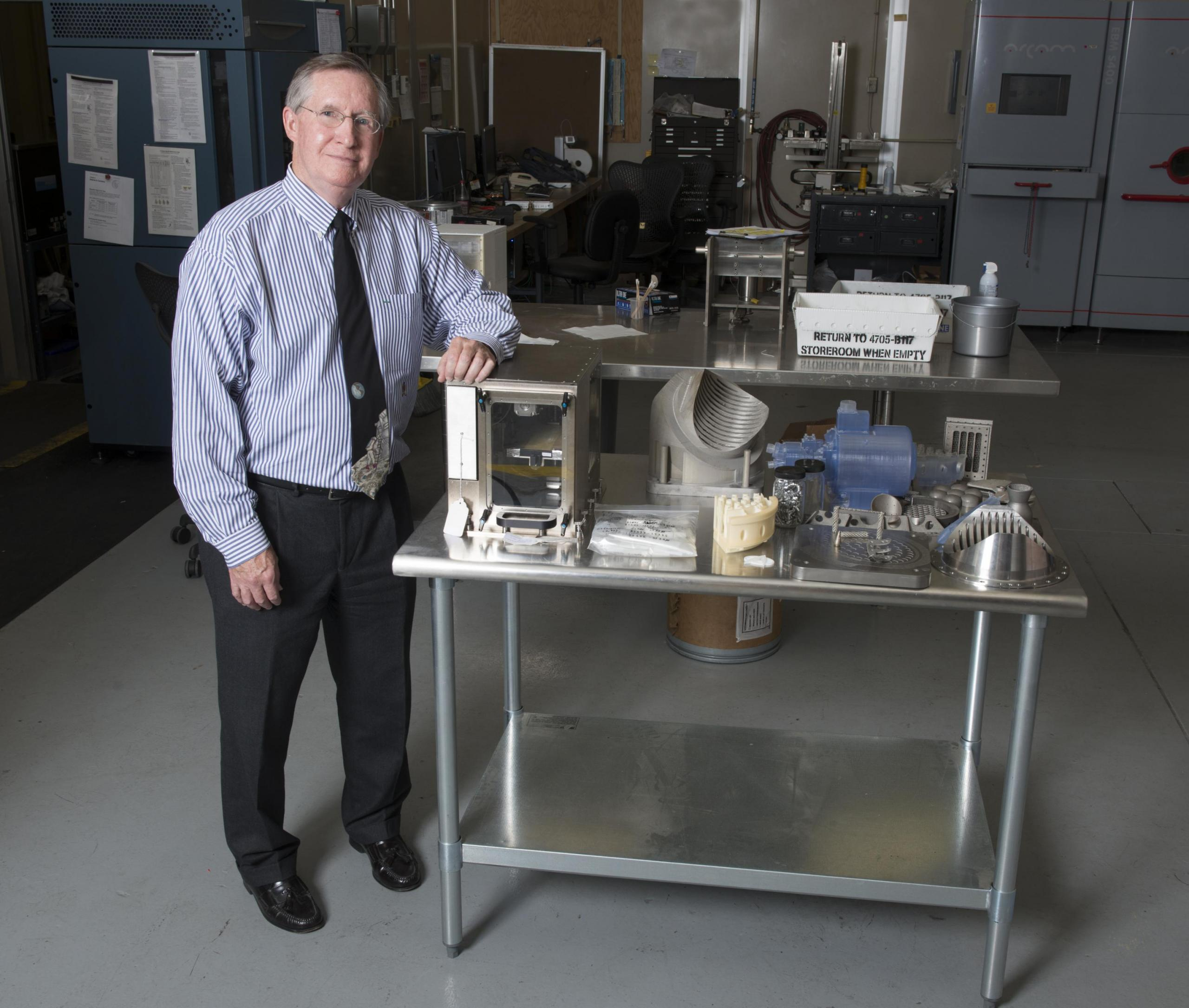 The 3-D printer that went up to the International Space Station