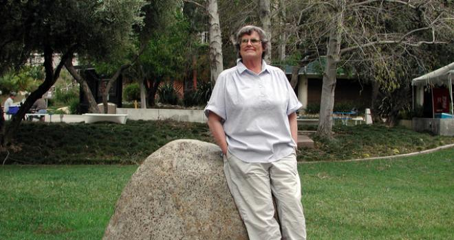 Anne Kahle at the Jet Propulsion Laboratory in Pasadena, Calif.