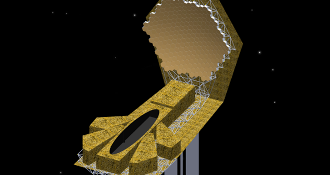 Rendition of iSAT telescope concept