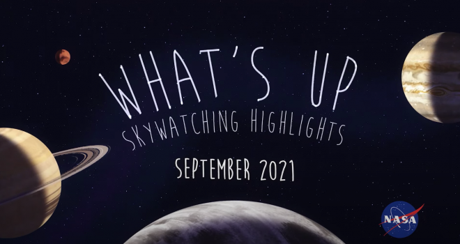 What's up in the sky in September