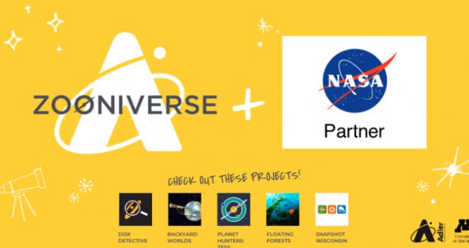Zooniverse and NASA partnership