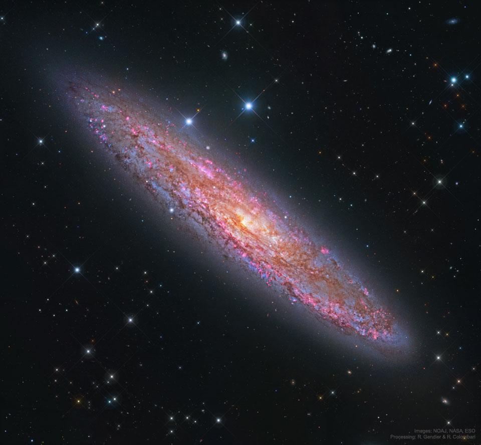 NGC 1569: Hubble Probes Interior of Small Star-Forming
