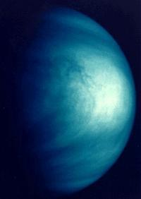 Venus as viewed by the Galileo spacecraft