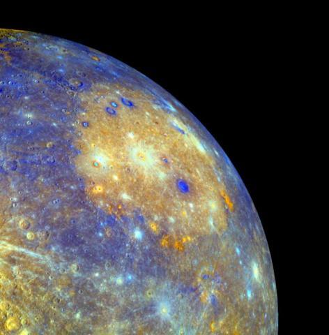 Mercury's giant Caloris basin