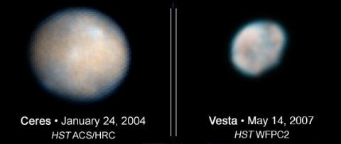 How Capt. Kirk Changed the World (Ceres and Vesta 568 pixels)