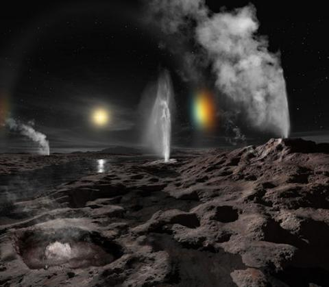 New Horizons Update (Pluto sundogs, 550px)