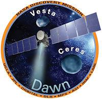 Countdown to Vesta (mission patch, 200px)