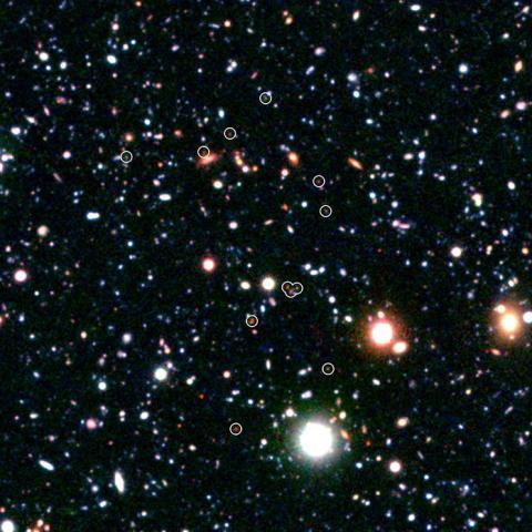 Proto-cluster of Galaxies COSMOS-AxTEC3