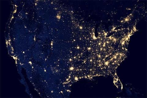Earth at Night (splash)