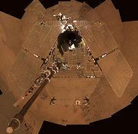 Mars Comet (solar panels, 200px)