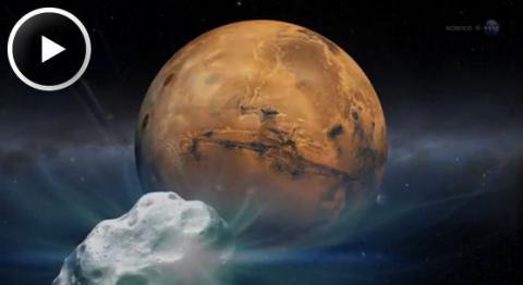 Mars Comet (Splash)