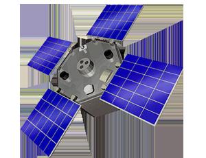 ACRIMSAT spacecraft icon