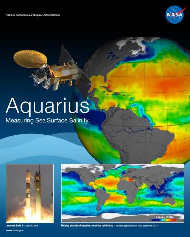 Aquarius Mission Poster