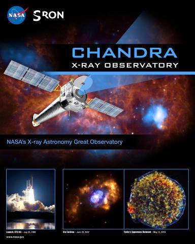 Chandra Mission Poster