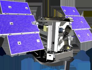 CloudSat spacecraft icon