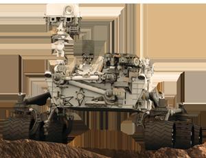 Curiosity spacecraft icon