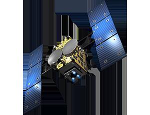 Illustration of Hayabusa spacecraft