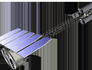 IXPE spacecraft illustration