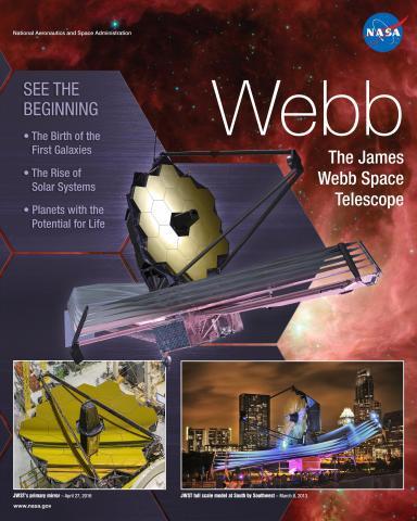 Webb Telescope Mission Poster
