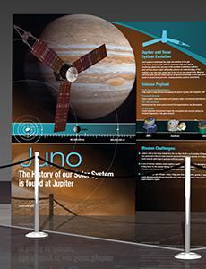 Juno Exhibit Poster