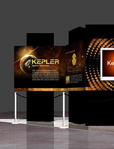 Kepler Exhibit Poster