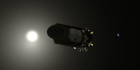 Illustration of NASA's Kepler spacecraft.